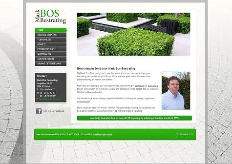 Website voorbeeld stratenmaker