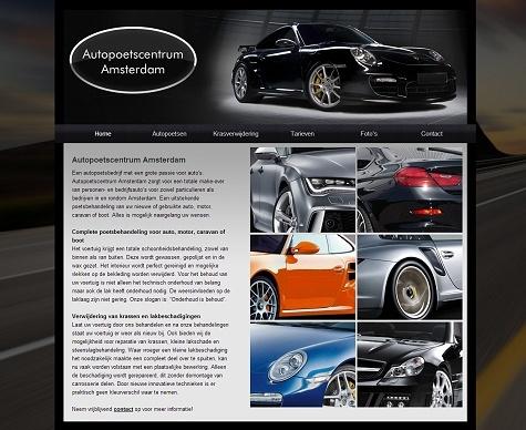 Website Autopoetsbedrijf